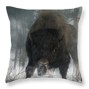 Spirit Of Winter Throw Pillow