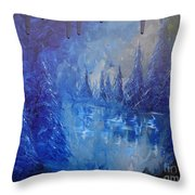 Spirit Pond Throw Pillow