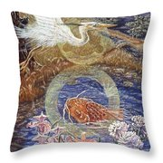 Spirit Rising Throw Pillow