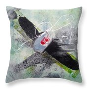Spirit Spiral Throw Pillow