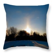Spirits Light Throw Pillow