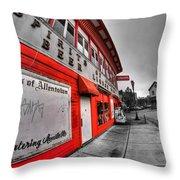 Spirits Of Allentown Throw Pillow