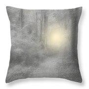 Spirits Of Avalon Throw Pillow by Roxy Riou