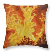 Spirits Of Sati Throw Pillow