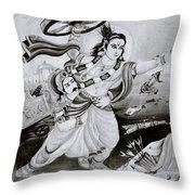 Urban Faith Throw Pillow