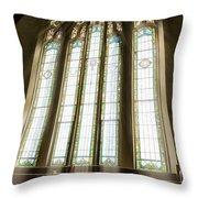 Spiritual Connection Between God And Man Throw Pillow