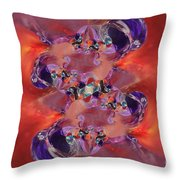 Spiritual Dna Throw Pillow