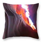 Spiritual Places Throw Pillow