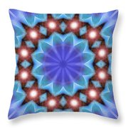 Spiritual Pulsar K1 Throw Pillow