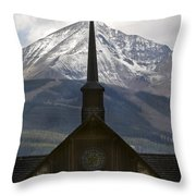Spiritual Skies Throw Pillow