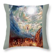 Spiritual Warfare Throw Pillow