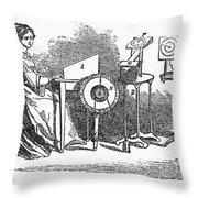 Spiritualism, 1855 Throw Pillow