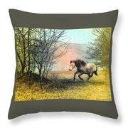 Spiritus Equus Throw Pillow