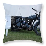 Spitfire Cafe Throw Pillow