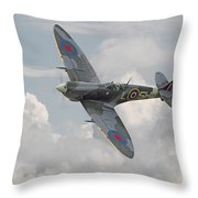 Spitfire - Elegant Icon Throw Pillow