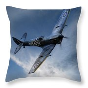 Spitfire Pass Throw Pillow
