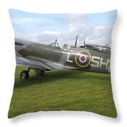 Spitfires Throw Pillow