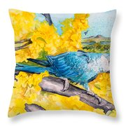Spix's Macaw - A Dream Of Home Throw Pillow