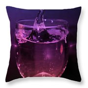 Splash Throw Pillow by Aaron Berg
