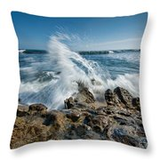 Splash In Motion  Throw Pillow