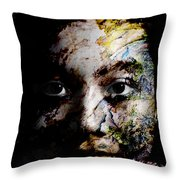 Splash Of Humanity Throw Pillow by Christopher Gaston