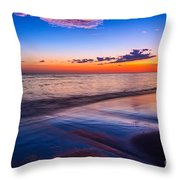 Splashes Of Color - Maui Throw Pillow
