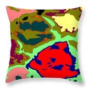 Splatter  Throw Pillow by Joseph Baril