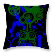 Splattered Series 8 Throw Pillow