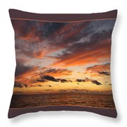 Splendor In The Skies Throw Pillow