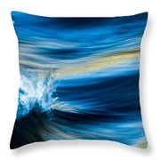 Splish Splash Throw Pillow