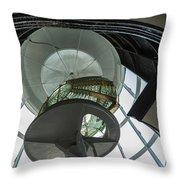 Split Rock Lighthouse Lens Throw Pillow