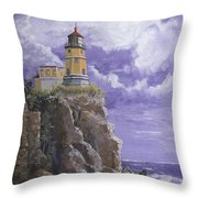 Split Rock Magic Throw Pillow