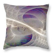 Split Second - Square Version Throw Pillow