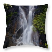Split Top Falls Throw Pillow