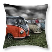 Splitty Rotters 2 Throw Pillow