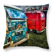 Splitty Rotters Throw Pillow