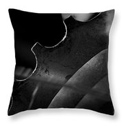 Spokes And Sprocket Throw Pillow