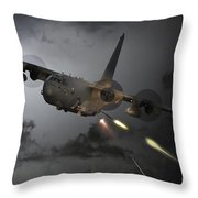'spooky' Throw Pillow