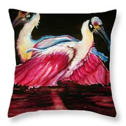 Spoon Dance Sold Throw Pillow