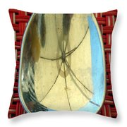 Spoonful Of Umbrella Throw Pillow
