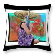 Spore Throw Pillow