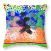 Sport B 9 C Throw Pillow