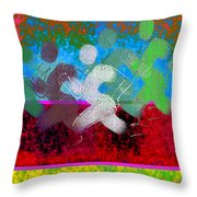 Sport B 9 Throw Pillow