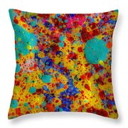 Spot Of Blue Sky Throw Pillow