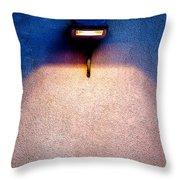 Spot Of Warming Light Throw Pillow