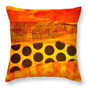 Spotted Sunset Throw Pillow