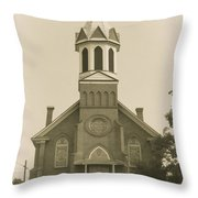 Sprague Church 2 Throw Pillow