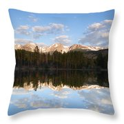 Sprague Lake 2 Throw Pillow