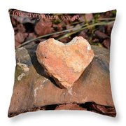 Spread Love Throw Pillow