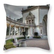 Spreckles Organ Pavilion Throw Pillow